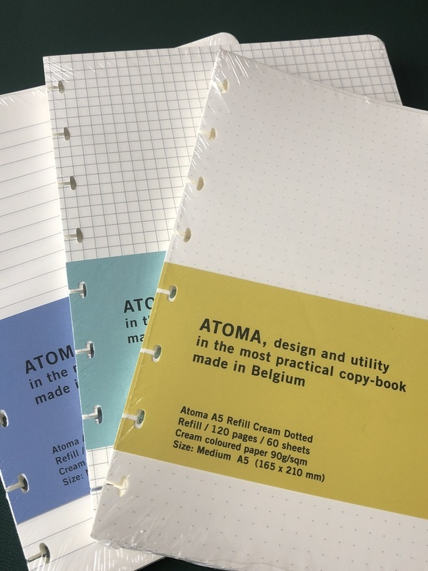 Recharge feuilles A5 Atoma